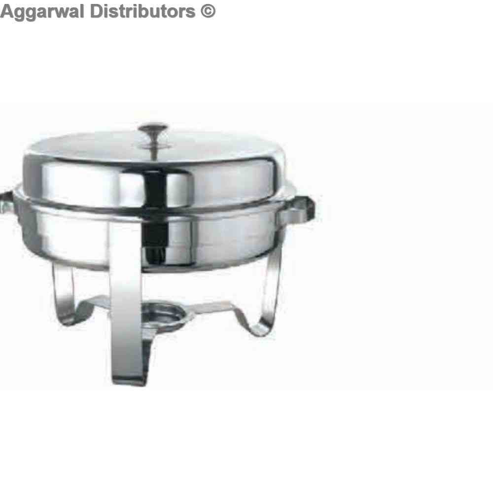 Round Lift top 5 Ltr Chafing Dish 1