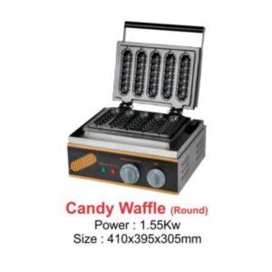 Candy Round Waffle - 1.55Kw