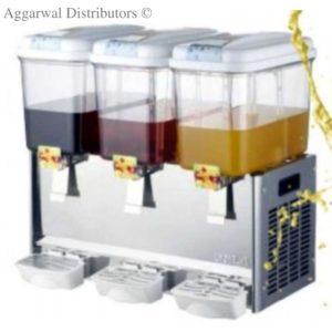 Cold Juice Dispenser -3 Tank-18 Ltr