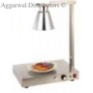 food warmer single lamp