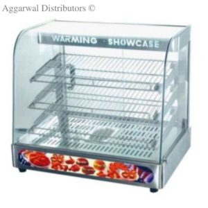 Display Food Warmers Imported Full Glass