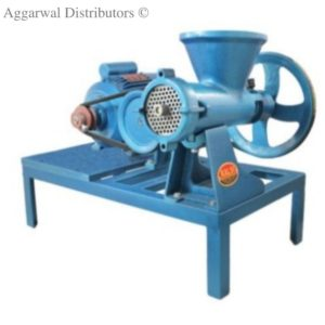 Kalsi Power Meat Mincer 32 SS Body fitted on frame 1-hp