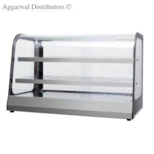 Display Food Warmers Imported Round Glass Luxury Big
