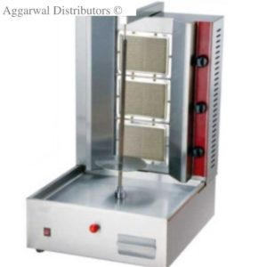 Gas Range Shawarma Machine 3 Burner