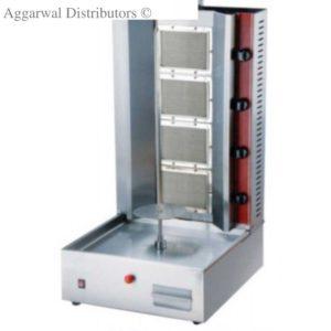 Gas Range Shawarma Machine 4 Burner