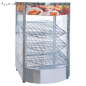 Display Food Warmers Imported Vertical Round Glass-Big 850W