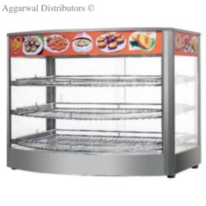Display Food Warmers Imported Vertical Round Glass-Jumbo 1000W
