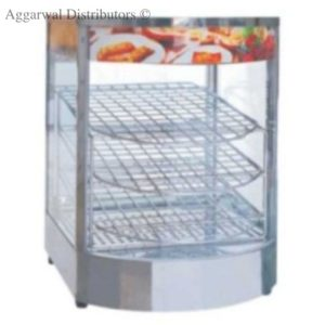 Display Food Warmers Imported Vertical Round Glass-Small 850W