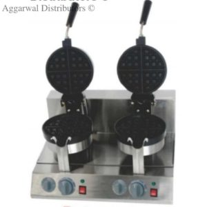 wafle baker rotary double