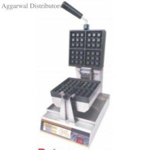 wafle baker rotary square digital