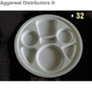 Acrylic Platter- 32-14x14x2