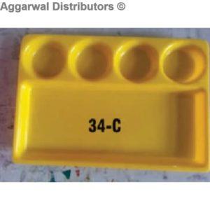 Acrylic Platter- 34 C-16x12x2
