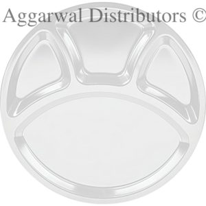Servewell 4 Part Partition Plate