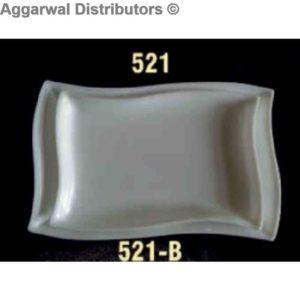 Acrylic Platter-521 [10x5.6x5x1]