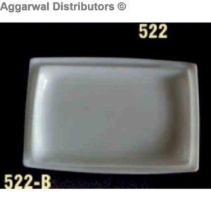 Acrylic Platter-522 [10x5.6x5x1]