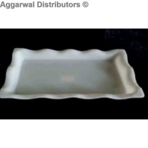 Acrylic Platter-524 B [12.5x6.5x1.5]