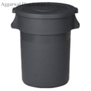 Cambro Nilkamal Plastic Round Waste Bin With Lid80