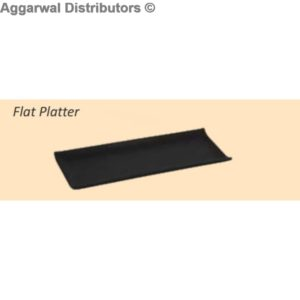 Glare Flat Platter