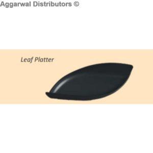 Glare Leaf Platter