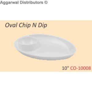 Glare Oval Chip N Dip