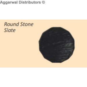 Glare Round Stone Slate