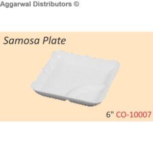 Glare Samosa Plate