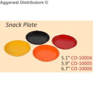 Glare Snack Plate