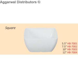 Glare Square Bowl