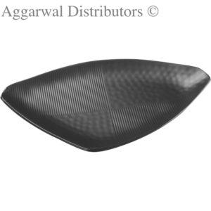 Glare Triangular Platter