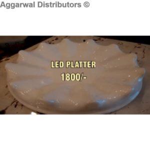 Acrylic Platter- Led Platter 555