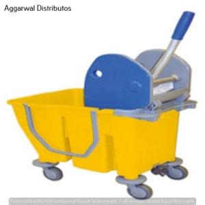 Mop Wringer & Bucket Trolley