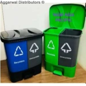 NGM_ABS-DUO WET & DRY PEDAL BIN 20*2 (40LTR)
