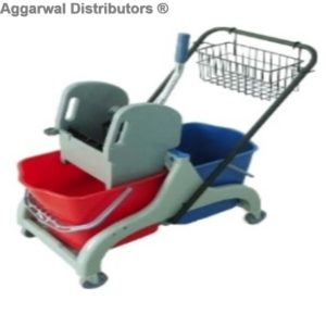 NGM_DOUBLE MOP BUCKET 46LTR WITH CADDY