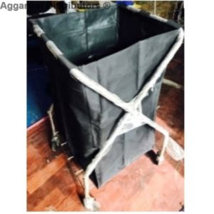 STAINLESS STEEL LAUNDRY X-CART
