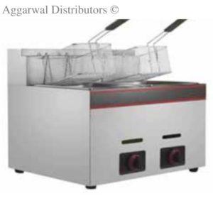 Regency Double Gas Fryer 6 ltr x2