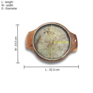 Round Sizzler 9 inch