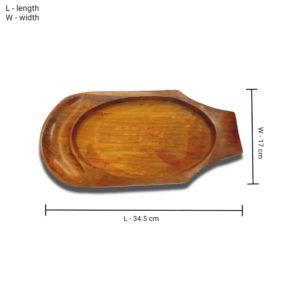 Salad Sizzler wooden