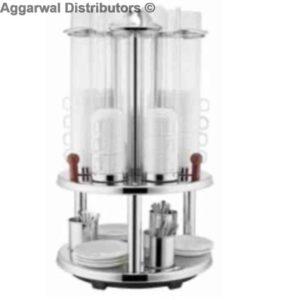 Sunnex Cups Dispenser Revolving