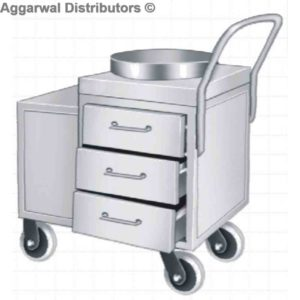 Tea Serving Trolley