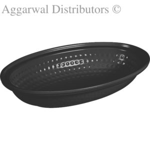 Servewell Dotted Oval Dish