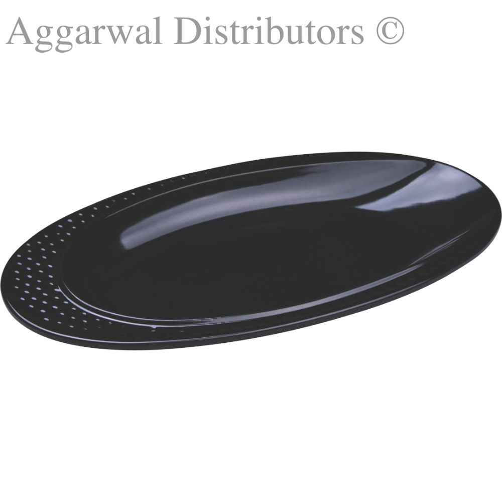 Servewell Dotted Oval Platter