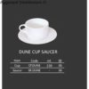 dune cup saucer