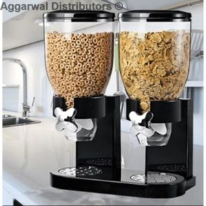 Minimalist Cereal Dispenser Double
