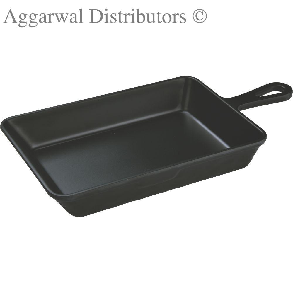 Servewell Rect Servo Dish With Handle