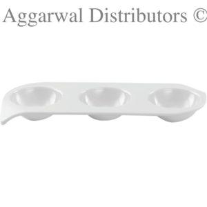 Servewell Trio Sauce Plate