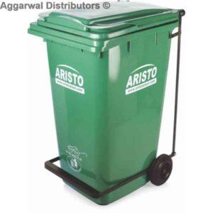 Aristo waste Bin pedal 120 ltr
