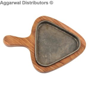 Wooden Triangle Sizzler