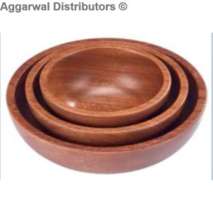 28 Wooden Sheesham Bowls