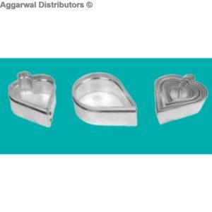 Biscuit Cutter Aluminium 6 Design