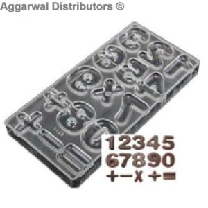 Chocolate Count Mould